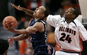 Illustration for article titled Bayless Overcomes Slow Start, Puts Illini Away In OT