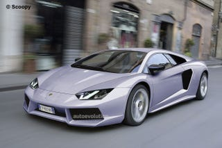 Lamborghini Aventador Is The New Jota