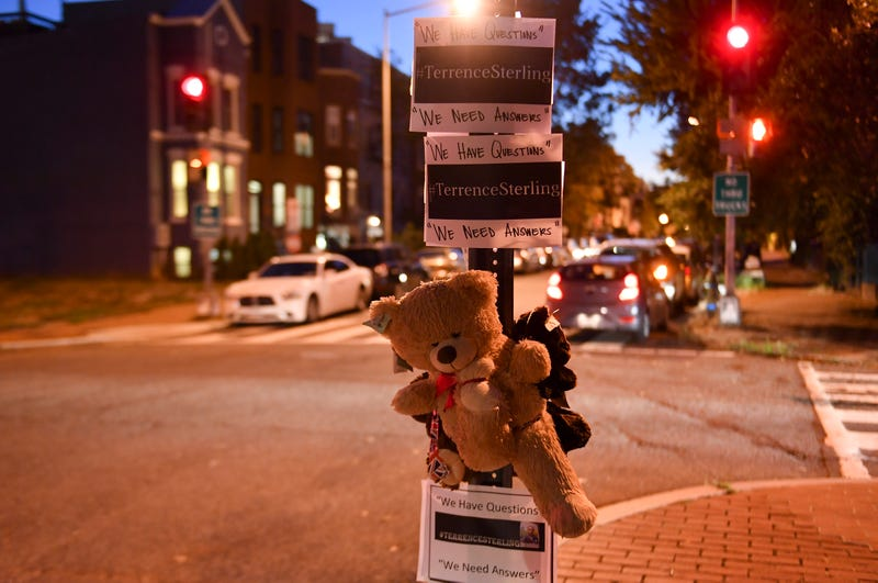 Since Terrence Sterling's death at the hands of a Washington, D.C., cop a year ago, community members have rallied, seeking answers and justice.  (Ricky Carioti/the Washington Post via Getty Images)