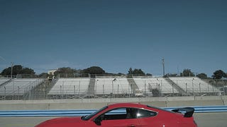 Watch The Ford Shelby GT350R Mustang Tackle Laguna Seca