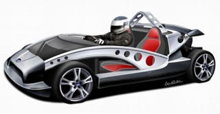 Illustration for article titled AWESOME POWER! GTM's 40TR Roadster to Get Turbo, More Horsepower