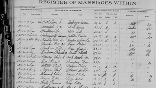 Marriage Register for Logan County, W.Va.West Virginia Division of Culture and History
