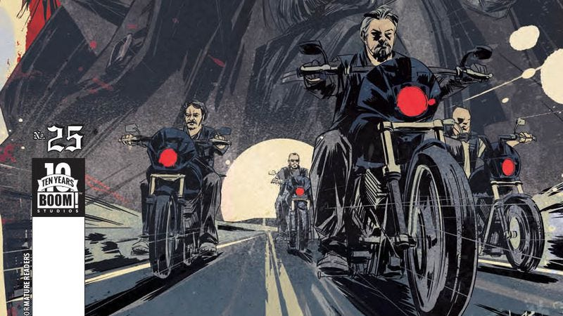 Illustration for article titled Exclusive Boom! preview: Sons Of Anarchy reaches the end of the road