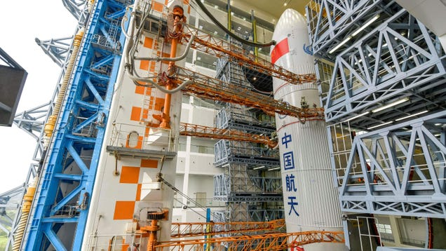 Watch: China Is Launching Its Chang e-5 Spacecraft to Get Some Moon Rocks of Its Own