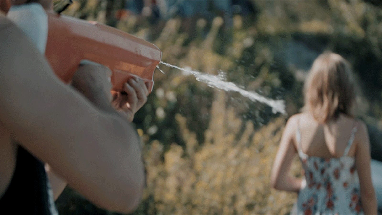 Now There's a Water Gun That Shoots Liquid Bullets and Refills Itself
