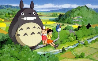 "Illustration for article titled The Book That Inspired ""Totoro"""