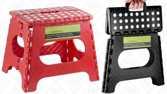 These $10 Folding Step Stools Belong In Every Garage and Pantry