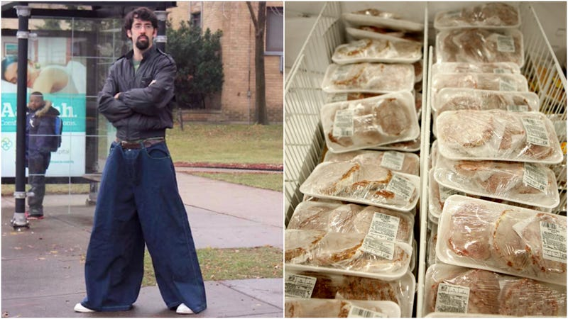 Illustration for article titled Moped-riding man busted with $170 of stolen ribeye steaks in his pants