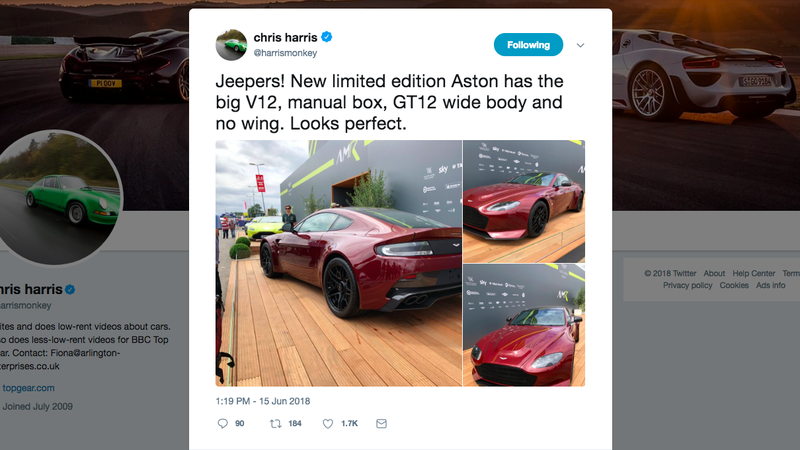 The Aston Martin V12 Vantage V600 Is The Biggest Beef Boy Of All
