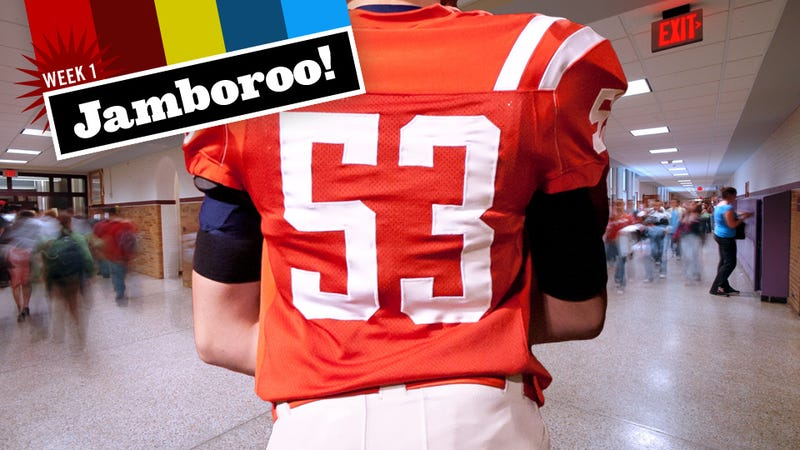 1dcad9cc943 Illustration for article titled Why Grown Men Walk Around Wearing Football  Jerseys