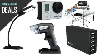 Illustration for article titled Criterion Films On Sale, Great GoPro Deal, Foldable Grilling Table