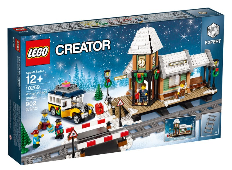 Lego's 2017 Holiday Set Is Just Waiting For A Train