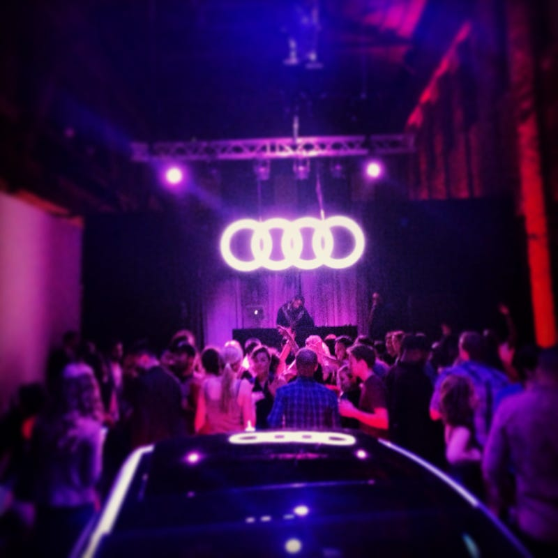 Illustration for article titled I Went To Audi's Ridiculous Hipster Party And It Was Fucking Awesome