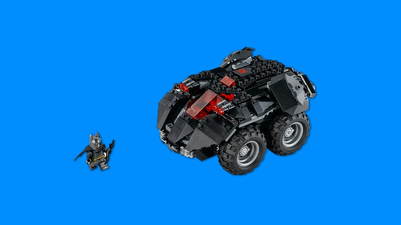 Illustration for article titled Lego's New Remote-Controlled Batmobile Looks Fun as Heck