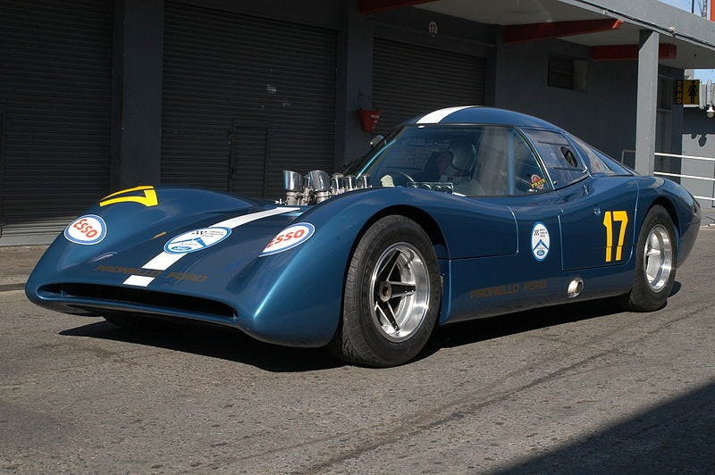 """Illustration for article titled Before Pagani the """"Huayra"""" Was a Wicked Ford"""
