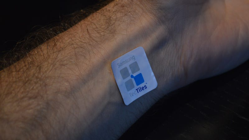 Illustration for article titled Samsung's TecTiles Put NFC Anywhere You Want It