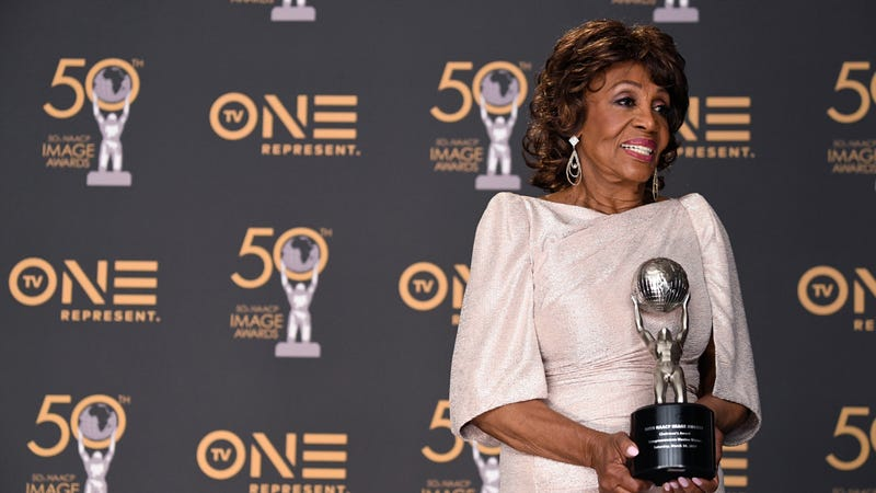 Congresswoman Maxine Waters, Chairman's Award Recipient, attends the 50th NAACP Image Awards on March 30, 2019 in Hollywood, California.