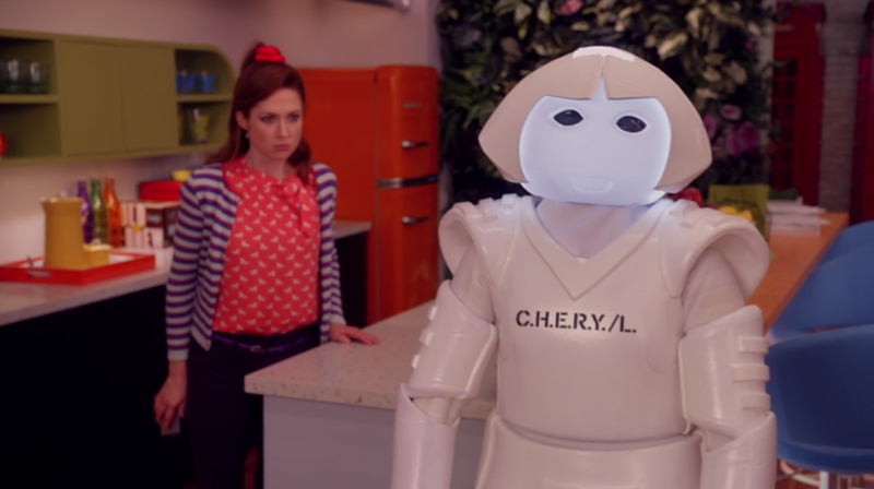 C.H.E.R.Y./L. the Robot Is Unbreakable Kimmy Schmidt's Unsung Hero