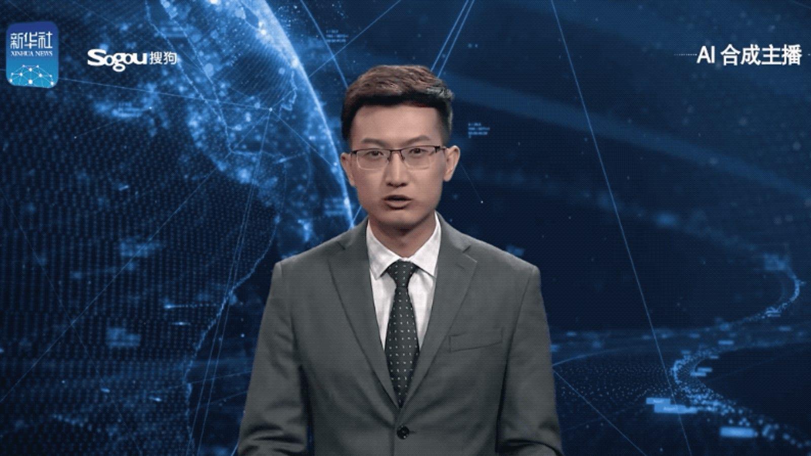 Resultado de imagen para China tiene un presentador de noticias generado por computadora y es lo más terrorífico que he visto nunca