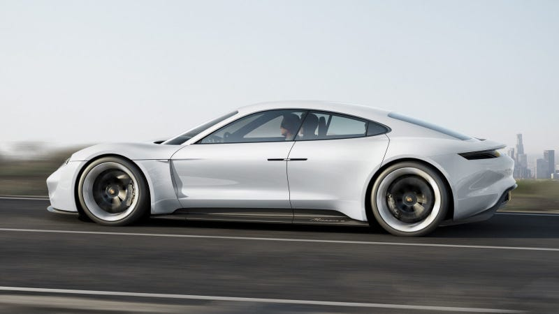 the porsche taycan will cost less than a panamera to challenge the