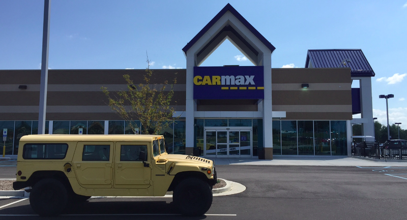 here s what happened when i tried to sell my hummer to carmax. Black Bedroom Furniture Sets. Home Design Ideas