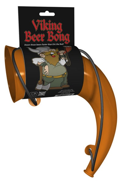 Illustration for article titled The Viking Horn Beer Bong: Valhalla I Am Coming!