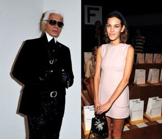 Illustration for article titled Karl Lagerfeld Can School You In Algebra, Apparently