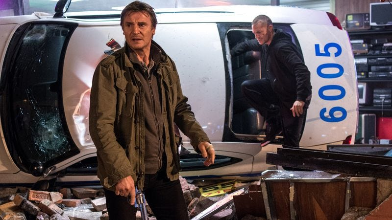 Illustration for article titled Liam Neeson rips up New York City in Run All Night