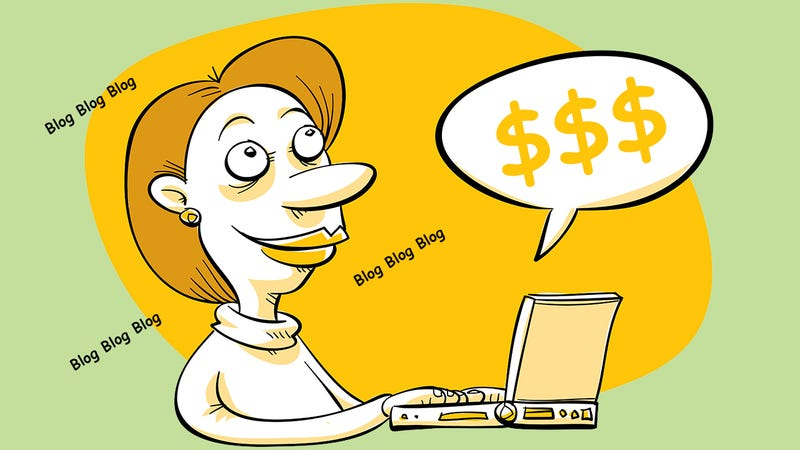 Illustration for article titled Can I Really Make a Living by Blogging?