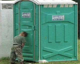 Illustration for article titled Would You Have Hot Sex In A Port-A-Potty?