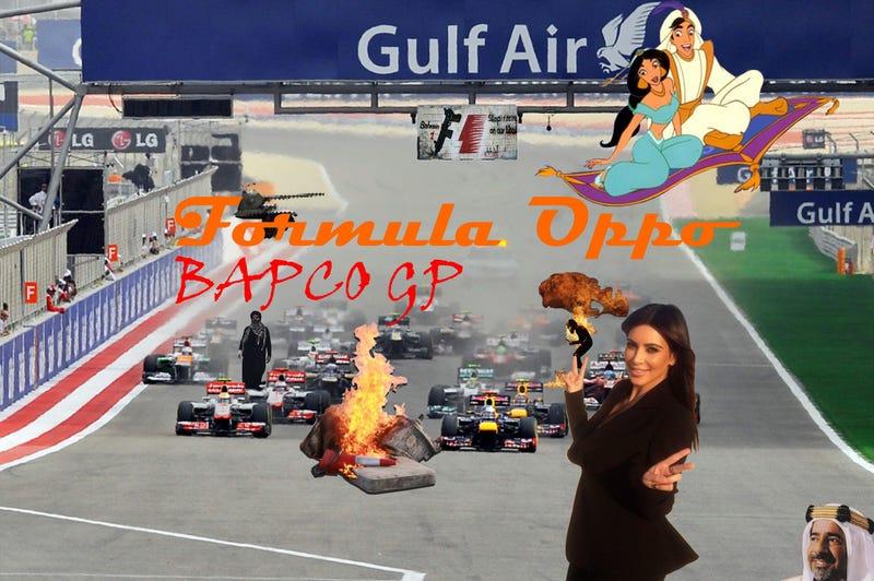 Illustration for article titled Formula Oppo: The BAPCO Grand Prix of Agrabah