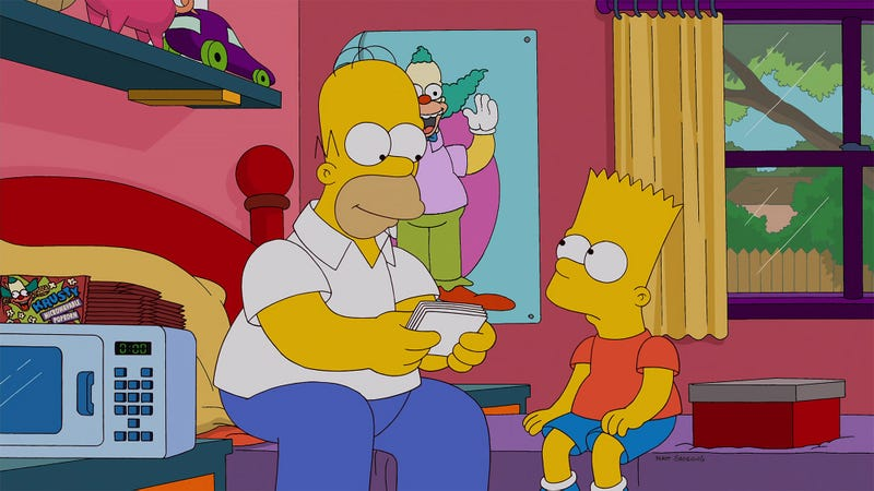 No Other Options: The Writers Of 'The Simpsons' Have Announced That They Have Exhausted All Other Character Story Combinations And Must Resort To A Romantic Relationship Between Homer And Bart