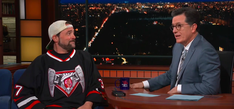 Kevin Smith, Stephen Colbert