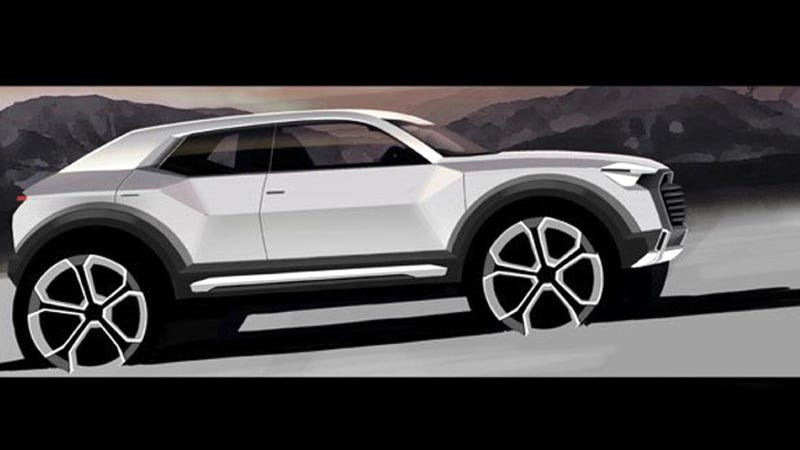 Illustration for article titled Audi Confirms All-New Q1 SUV To Be Produced From 2016