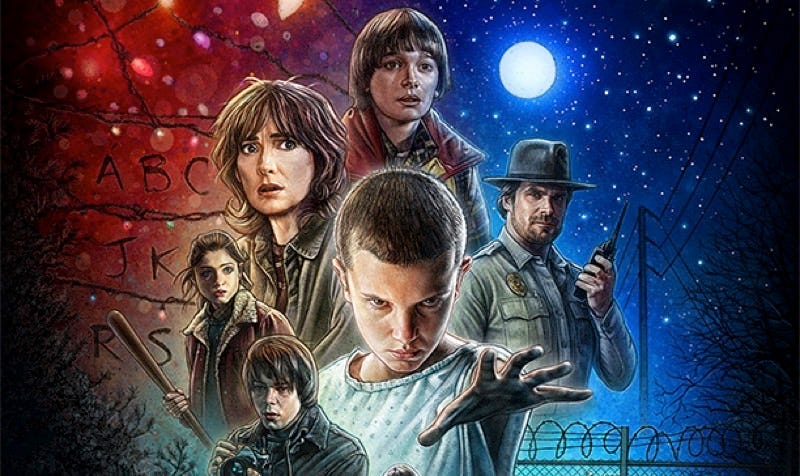 Illustration for article titled Netflix's Stranger Things TV Series Openly Worships at the Altar of Spielberg