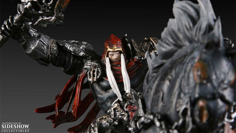 Illustration for article titled Do You Like Darksiders Enough to Spend $500 On This Statue?