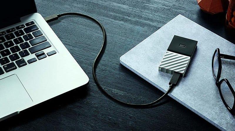 WD 512GB Portable SSD | $90 | Amazon