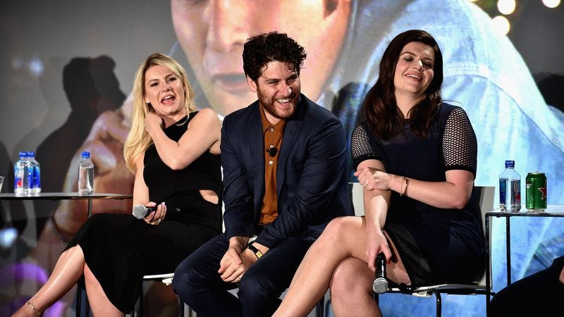 The Happy Endings reunion panel at this year's Vulture Festival in New York. (Photo: Bryan Bedder/Getty Images)
