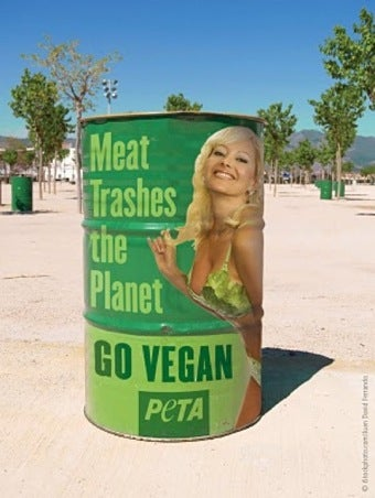Illustration for article titled Cities Across America Reject PETA Ads