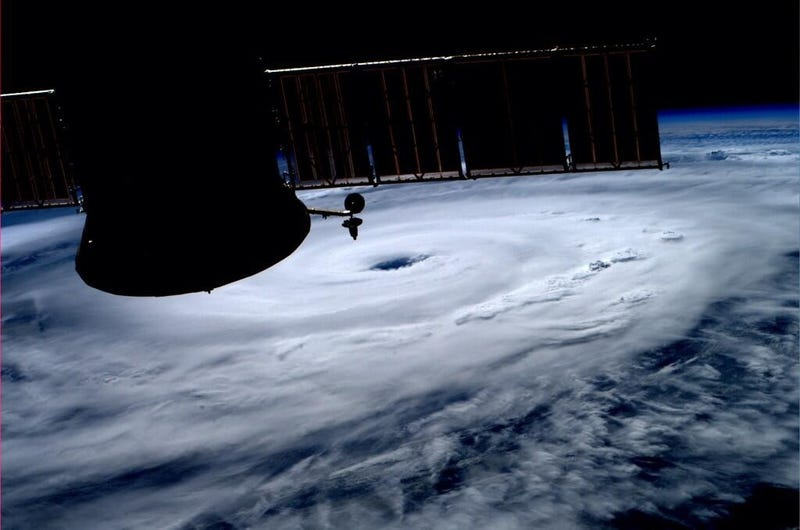 Illustration for article titled Astronaut Gets Awesome Hurricane Photo From ISS