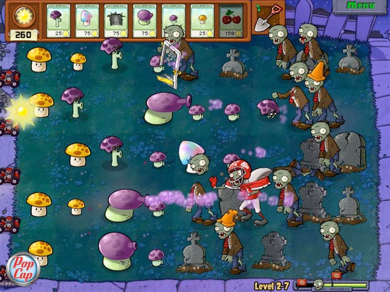 Illustration for article titled Plants Vs. Zombies Shambles To Xbox 360 This Fall