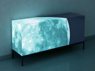 Illustration for article titled Fancy Up Your Home With a Glowing Moon Credenza