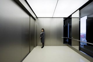 Illustration for article titled New Elevators Installed In Japan Can Take 80 People Sky-High