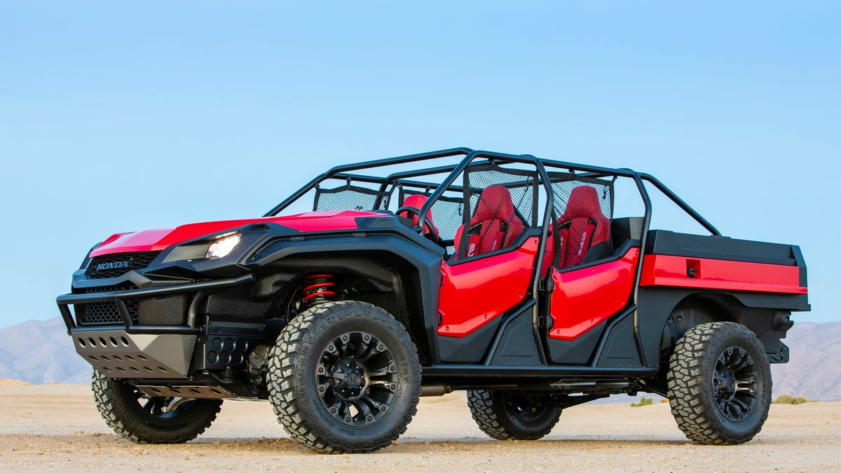 This Honda Ridgeline Dune Buggy Proves That The Ridgeline Is More