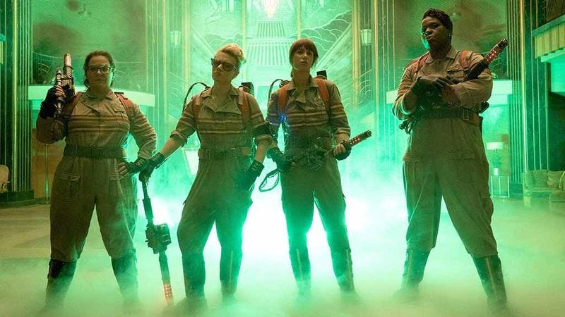 Who you gonna call? The 2016 Ghostbusters