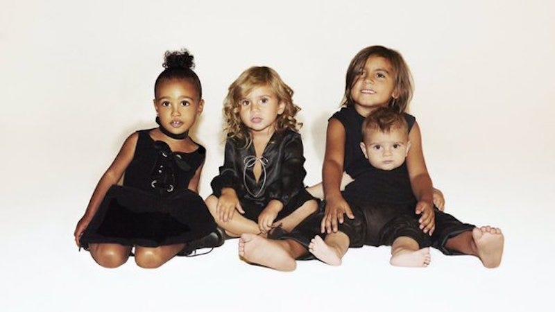 Illustration for article titled The Kardashian Khristmas Kard Is Just Kute Kids
