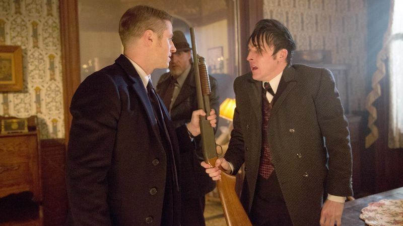 Ben McKenzie, Donal Logue, Robin Lord Taylor
