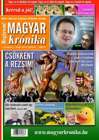 Illustration for article titled Teljes titokban újságot alapítottak Orbánnak