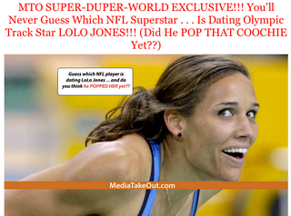 Illustration for article titled The Time ESPN's Lynn Hoppes Debunked MediaTakeOut's Report That Lolo Jones Was Dating Ndamukong Suh