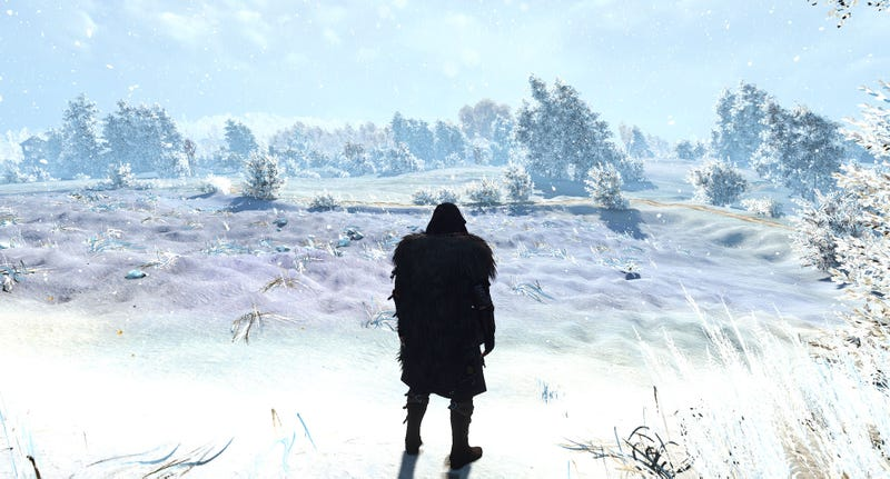 Illustration for article titled Mod Brings Snow To All OfThe Witcher 3